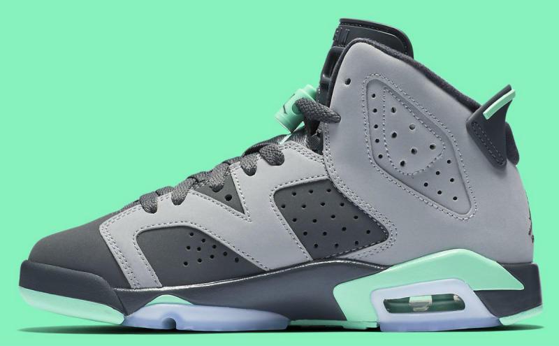 39fc0b8c670899 Air Jordan 6 GS Green Glow