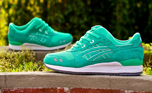 asics gel lyte 3 mint