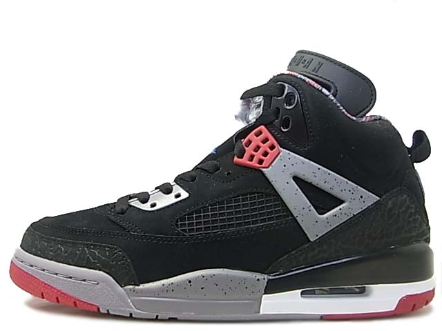 3ea73265fc9e Air Jordan Spizike Black Varsity Red - Cement Grey