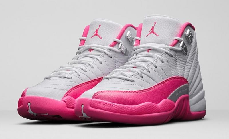 Air Jordan 12 GS Vivid Pink