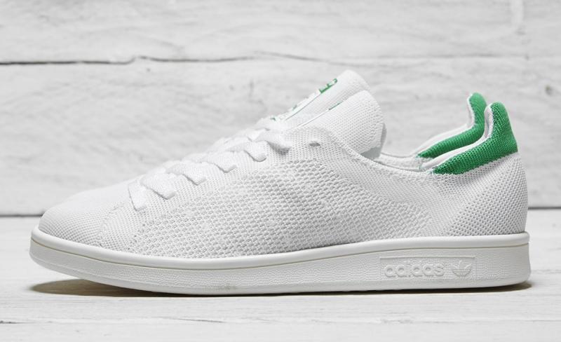Adidas Stan Smith Primeknit White Green 1d2fad63b