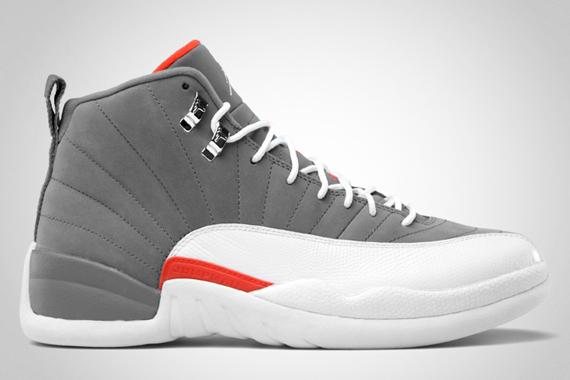 Air Jordan 12 Cool Grey