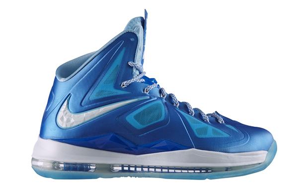 blue lebron 10