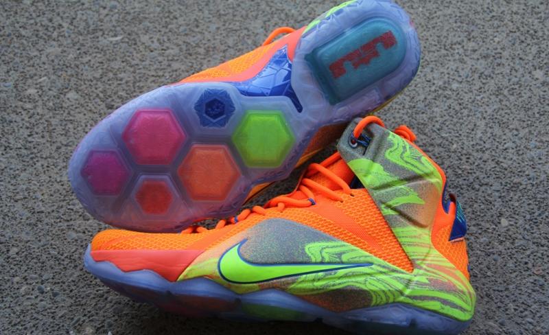 1c6d0293a98 Nike LeBron 12 Six Meridians
