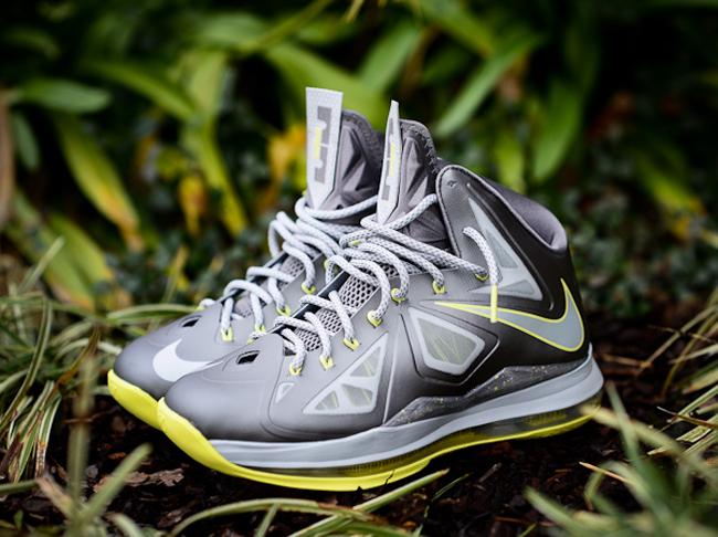 Nike Lebron 10 Canary