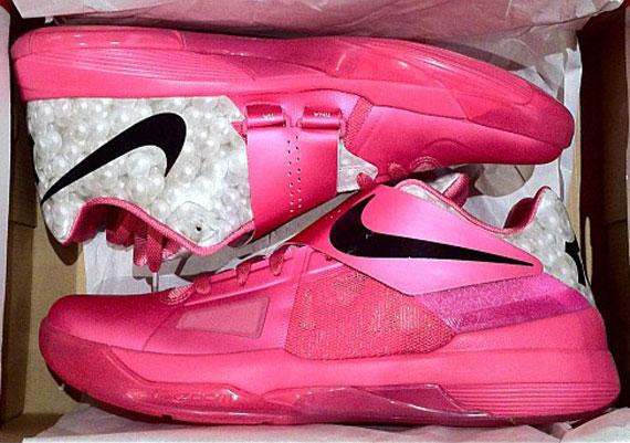 Nike KD 4 Aunt Pearl