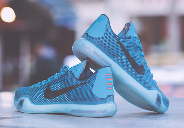 on sale f51c5 c2095 ... blue color Nike Kobe 10 5AM Flight ...