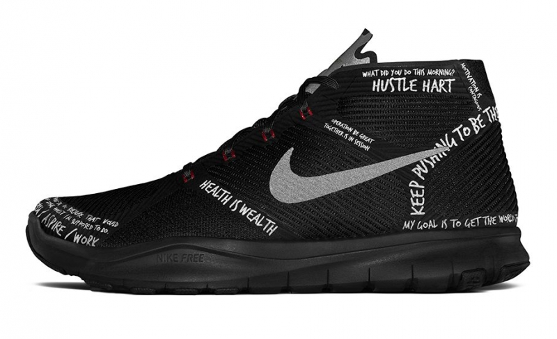 Nike Free Trainer Instinct Hart Black