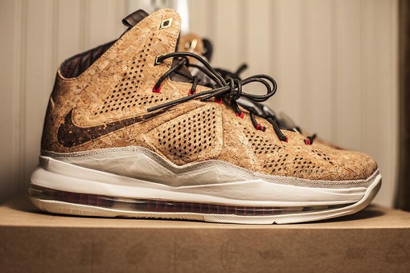 ShoeFax - Nike LeBron 10 Cork EXT