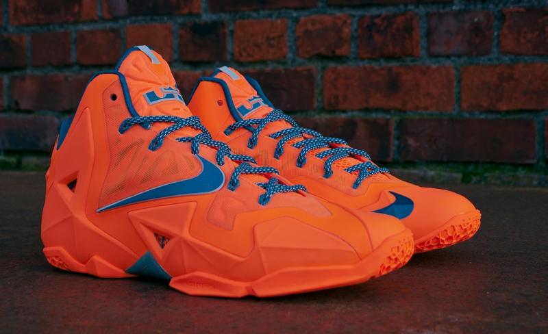 Nike Lebron 11 Atomic Orange