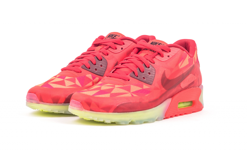 outlet store d75bb 1f841 ... Nike Air Max 90 ICE Gym Red ...