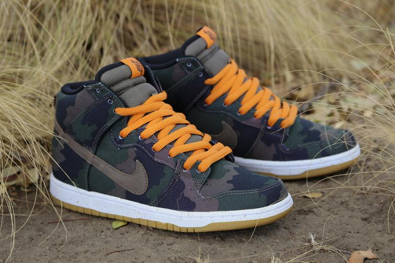 510 Skateboarding x Nike SB Dunk High Camo