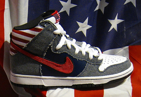 Nike Dunk High SB Born in the USA