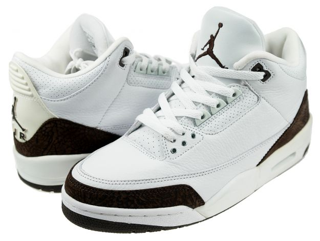 Air Jordan 3 White Dark Mocha