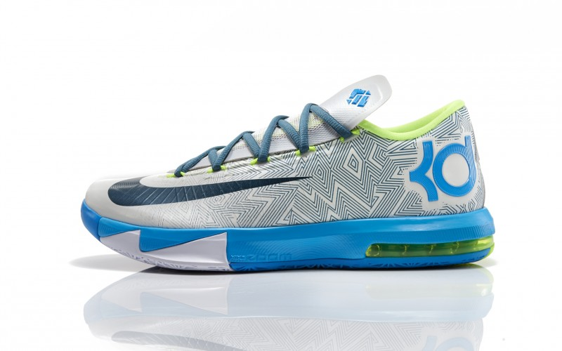 ShoeFax - Nike KD 6 Pure Platinum