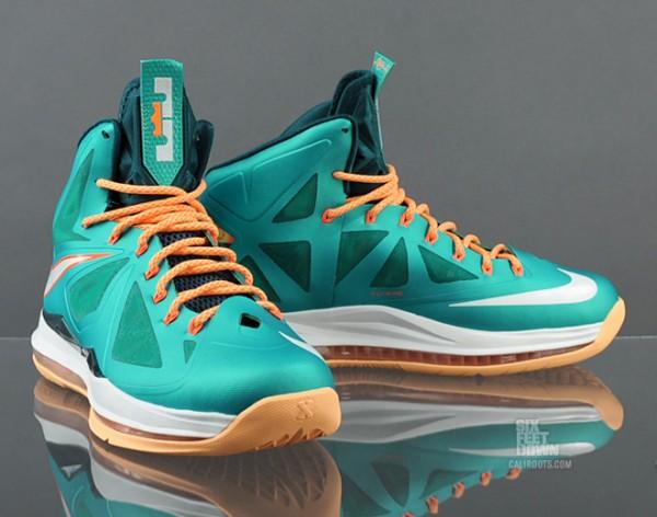 Nike LeBron 10 Dolphins