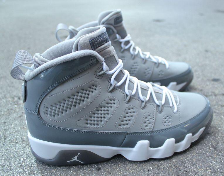 half off 5a155 719a4 ShoeFax - Air Jordan 9 Cool Grey 2012