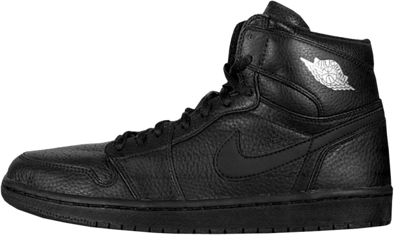 Air Jordan 1 Black Metallic Silver 2001