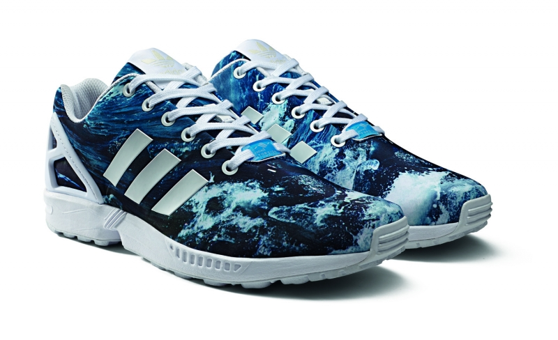 adidas zx flux ocean waves