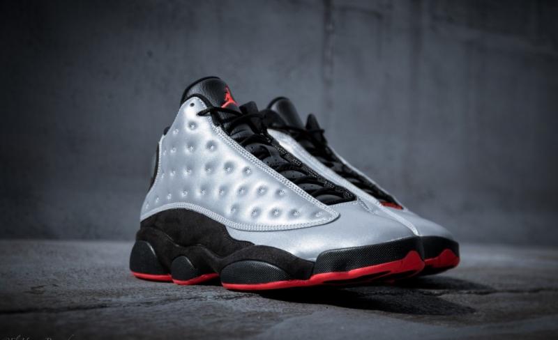 Air Jordan 13 Reflective Silver