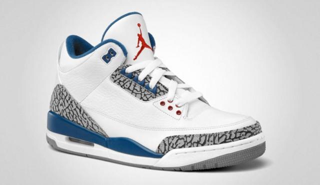 2016 Air Jordan 3 True Blue