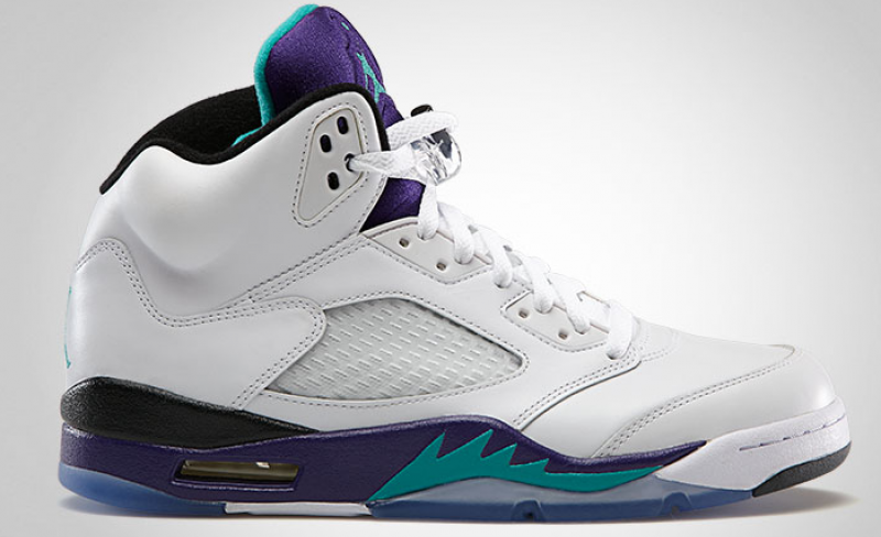 2013 Air Jordan 5 Grape