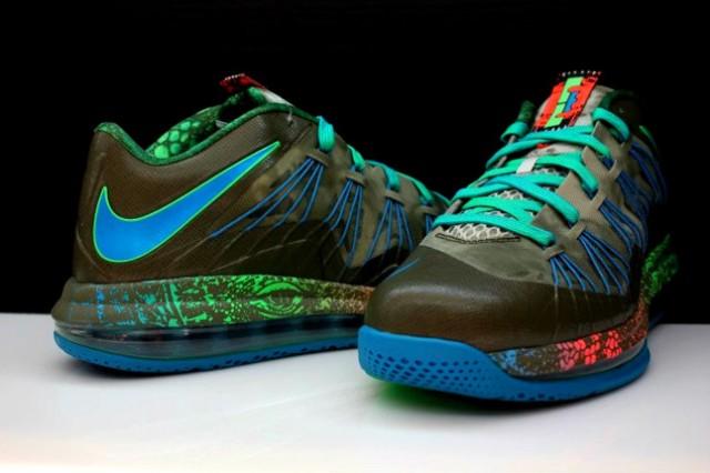 91dd89313b2 Nike LeBron 10 Reptile