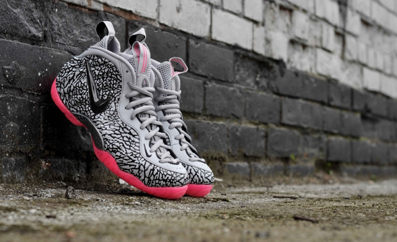 Nike Air Foamposite Pro Elephant Print