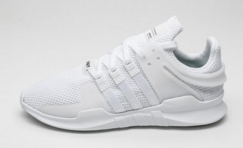 white adidas shoes eqt