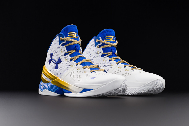 Under Armor Curry Two Gold Rings