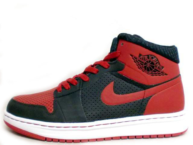 Air Jordan 1 Alpha - Black / Varsity Red - White